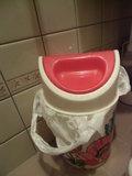 和式トイレのゴミ箱