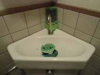 和式トイレの水タンク