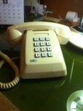 ロビーの館内用電話