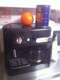3階キッチンのコーヒーマシン
