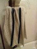 脱衣所の洗面台の手ぬぐいタオル