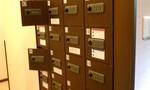 大浴場の暗証番号式セキュリティボックス