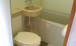 部屋のトイレと風呂