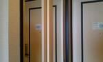 クローゼットの鏡