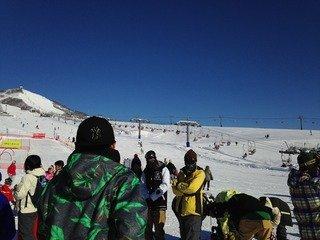 岩原スキー場直結