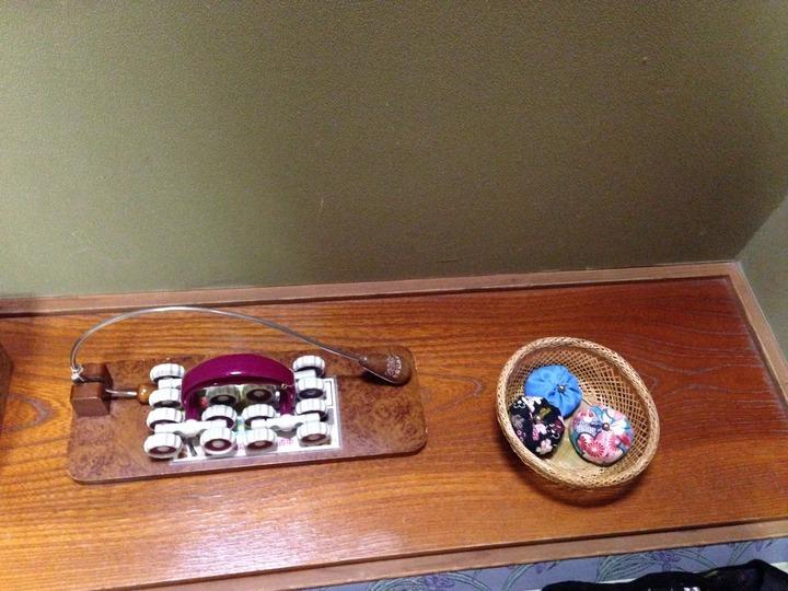 お手玉とマッサージ器