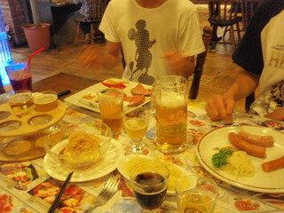 お夕食はリゾート内の「御殿場高原ビール」