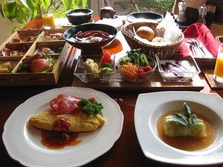 朝食は和食か洋食をチョイス