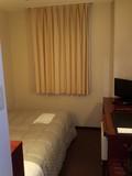 シングル部屋です。