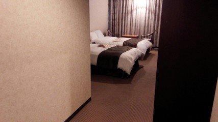部屋はとても広い