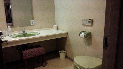 トイレが別部屋でとても広い