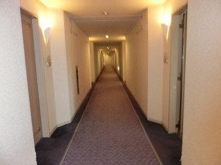 長い廊下☆