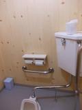 トイレは綺麗な和式でした