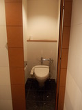 縦長のトイレ
