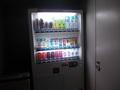 客室階の飲料自販機