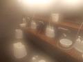 浴場内の洗い場の様子