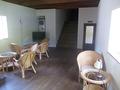 籐椅子がお洒落な休憩スペースもありました