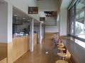 2階の軽食コーナー
