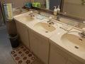 共用の洗面台の様子