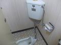 トイレは和式でした