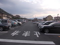 広々とした駐車場があります