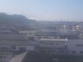 宿泊階(5F)からの眺望