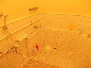 シャワー室の様子