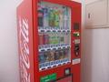 客室階にもソフトドリンクの自販機が設置されていました