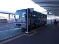 無料シャトルバスが運行されています