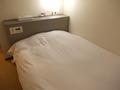 シングルベッドの様子