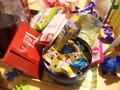 お菓子が置かれていました
