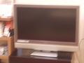 ロビーのテレビ