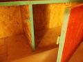 ドミトリーベッド脇の物置スペース
