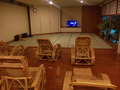 「天人峡」の休憩室