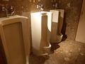 ラウンジ手前のトイレ(男子小用)