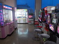 苫小牧フェリーターミナル内のゲームコーナー