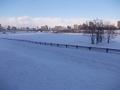 反対側は豊平川河畔が広がります