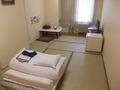 和室シングルルームの様子