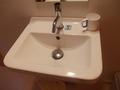 2Fにも洗面台が設置されていました