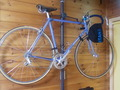 自転車も飾られていました