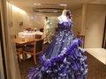 ドレスの展示スペース