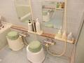 浴室内洗い場の様子