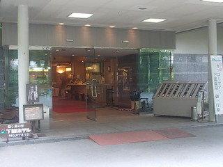 ホテルの入口の様子