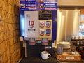 ドリンクサーバーも朝食時無料で使用できます