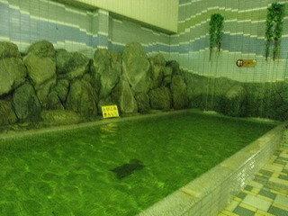 浴場内のプール