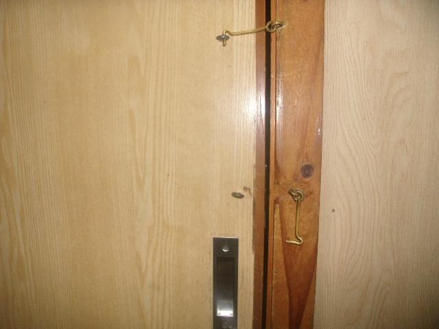 客室内からの施錠