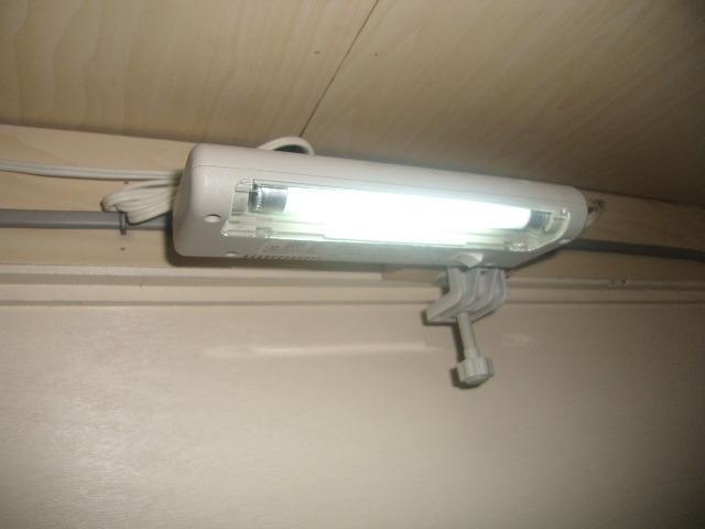 ボックス客室内照明の様子