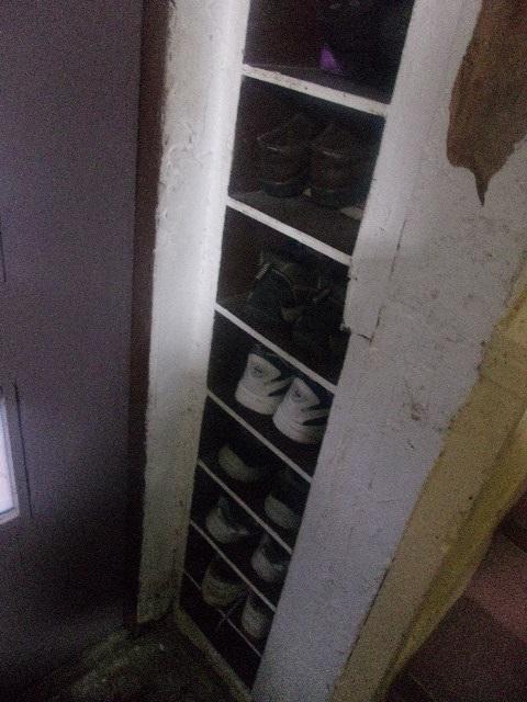 外履き用の靴箱