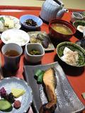 京町家片泊まりの朝食