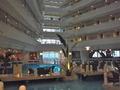 サンマリーナホテルの一階ロビーです